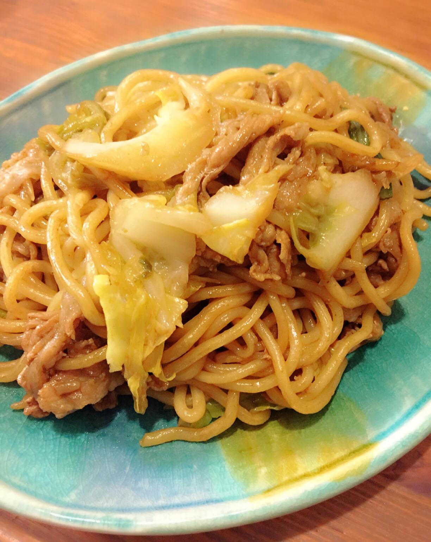 コストコ太麺焼きそば