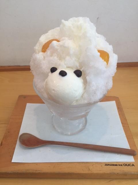 恵比寿桜花のカキ氷