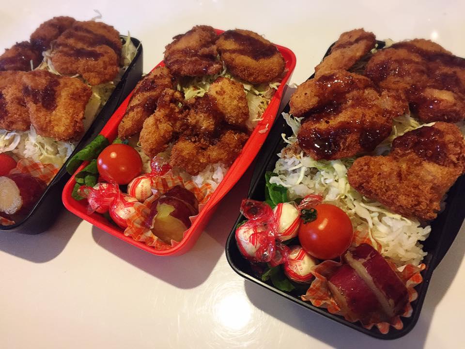 コストコの鶏むね肉でチキンカツ弁当