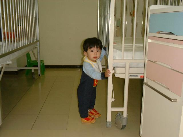 子どもの入院