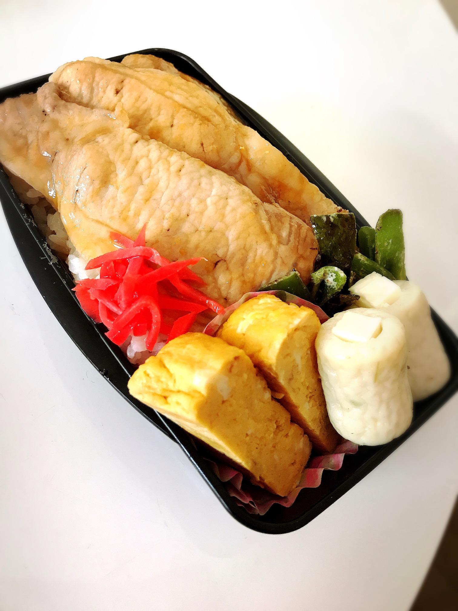 生姜焼き弁当画像